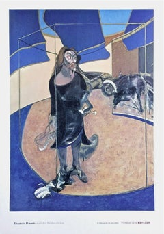 Portrait Isabel Hawsthorne, 2003 Event Lithograph, After Francis Bacon