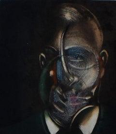 Portrait of Michel Leiris - British Abstract Art