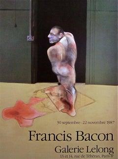 Standing Man, 1987 Exhibition Lithograph, Francis Bacon