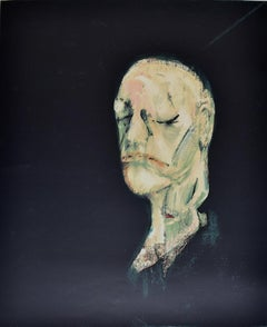Study of a Portrait II, after the Life Mask of William Blake - British Portrait