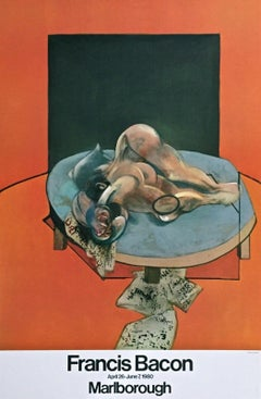 Untitled, 1980 Original Event Lithograph, Francis Bacon