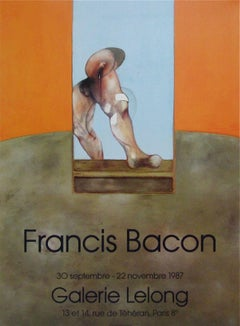 Untitled, 1987 Event Lithograph,  After Francis Bacon