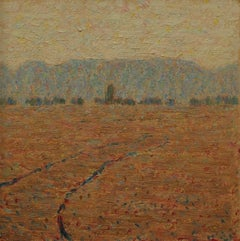 Santa Barbara, California Impressionist Landscape #0-77
