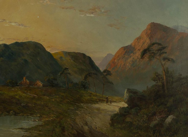 Francis E. Jamieson (1895-1950) - Early 20th Century Oil, Scottish Highland - Black Landscape Painting by Francis E. Jamieson