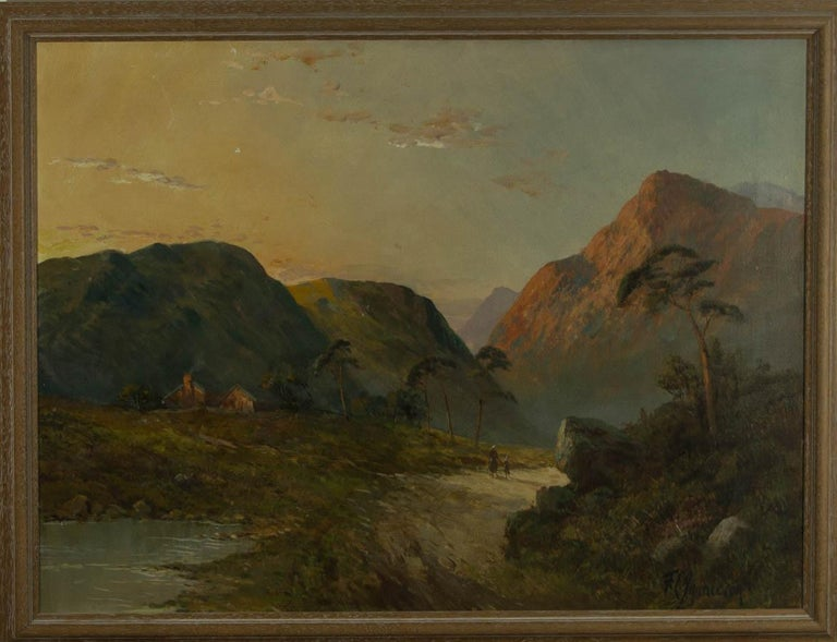 Francis E. Jamieson (1895-1950) - Early 20th Century Oil, Scottish Highland - Painting by Francis E. Jamieson