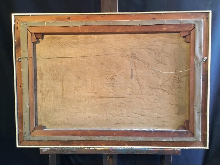 Scottish Cliffside, Antique Oil Painting, Signed For Sale 5