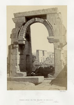 Roman Arch on the Island of Biggeh, Nubia