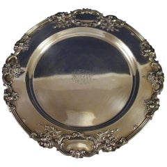 Francis i by Reed & Barton Sterling Silver Serving Tray Round #570A