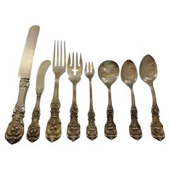 Francis I Old by Reed and Barton Sterling Silver Flatware Set Service 89 Pieces