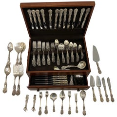 Francis I Reed & Barton Sterling Silver 197-Piece Flatware Set