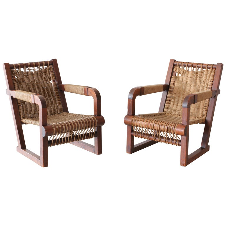 Francis Jourdain Attributed Chairs For Sale