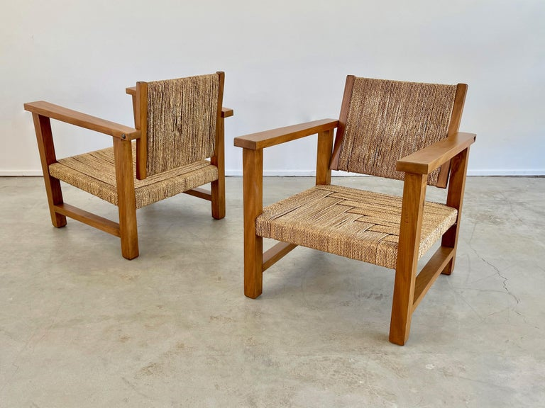 French Francis Jourdain Chairs For Sale