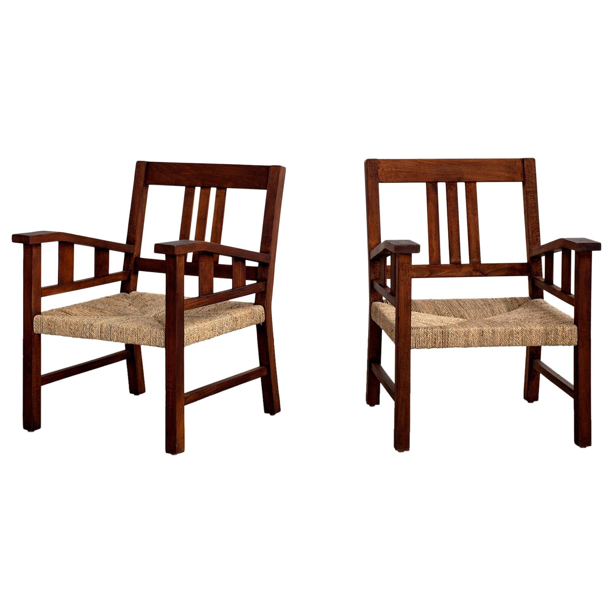 Francis Jourdain Chairs