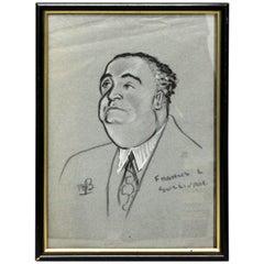 Francis L. Sullivan 'Portrait - Tribute'