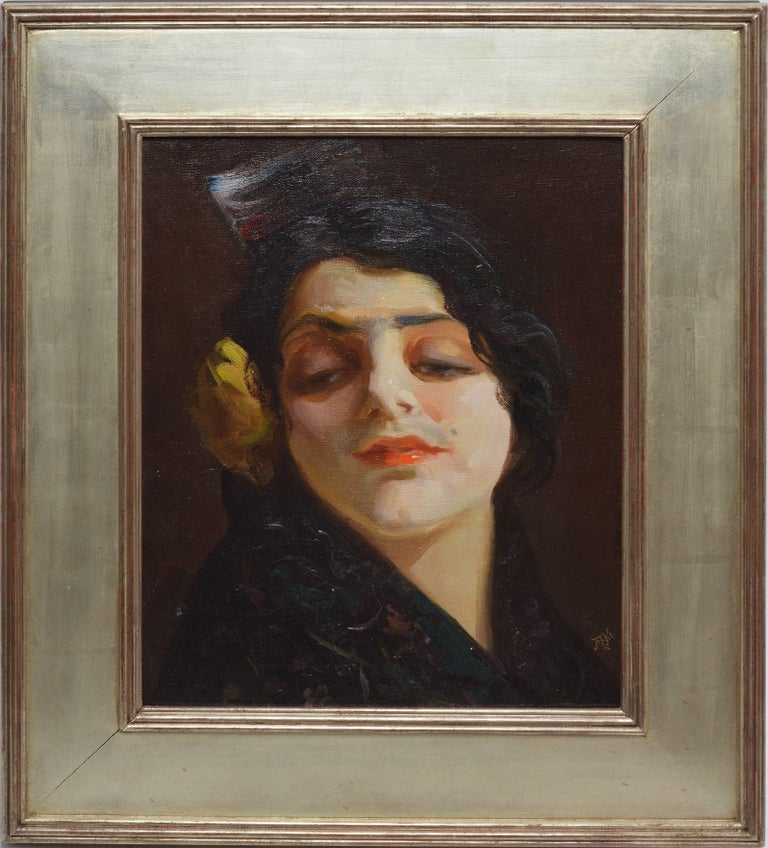 Portrait of a Spanish Woman by Francis Mora
