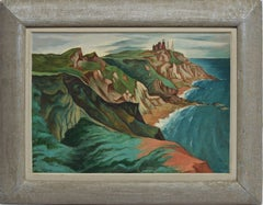 Modernist View of Block Island by Francis Colburn