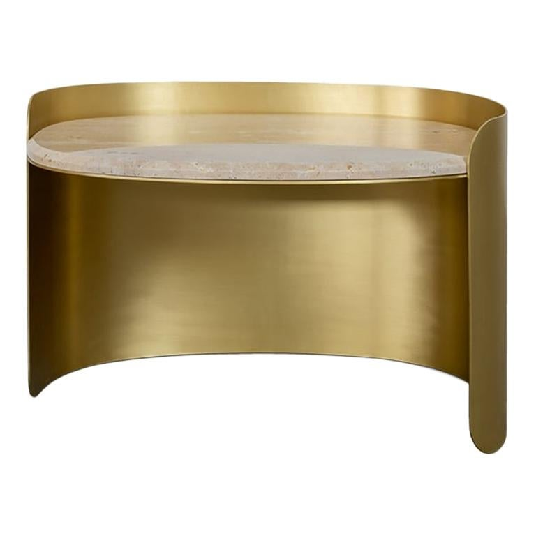 Francis Scott Oval Side Table by Studiopepe