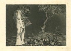Disparate de Miedo - Original Etching - 1875