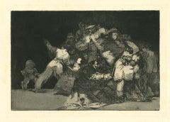 Disparate General - Original Etching - 1875