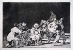 La Lealtad - Origina Etching and Aquatint by Francisco Goya - 1891