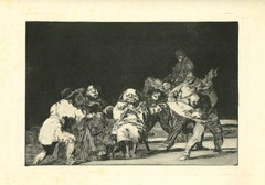La Lealtad - Original Etching - 1875