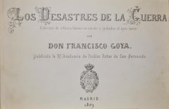 Los Desastres de la Guerra - Complete Series of The Disasters of War - 1863