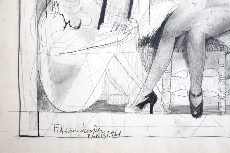 Expressionist Francisco Hernandez Drawing