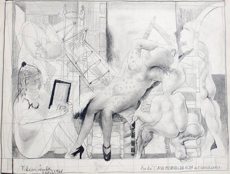 Francisco Hernandez Drawing