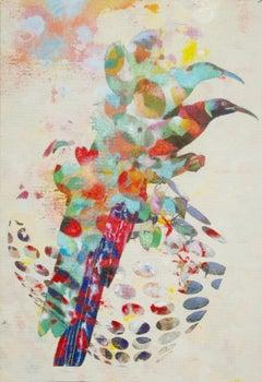 Birds 007- Contemporary, Abstract, Expressionist, Modern, Street art, Surrealist