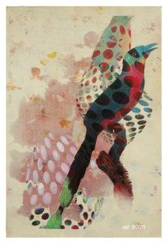 Birds 018- Contemporary, Abstract, Expressionist, Modern, Street art, Surrealist