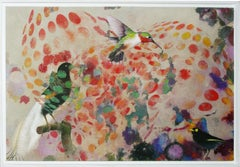 Birds 019 - Mixed Media, Contemporary, Animals, Painting, Acrylic , Abstract