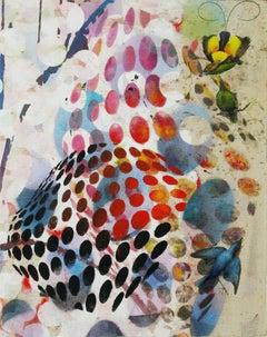 Birds 026- Contemporary, Abstract, Expressionist, Modern, Street art, Surrealist