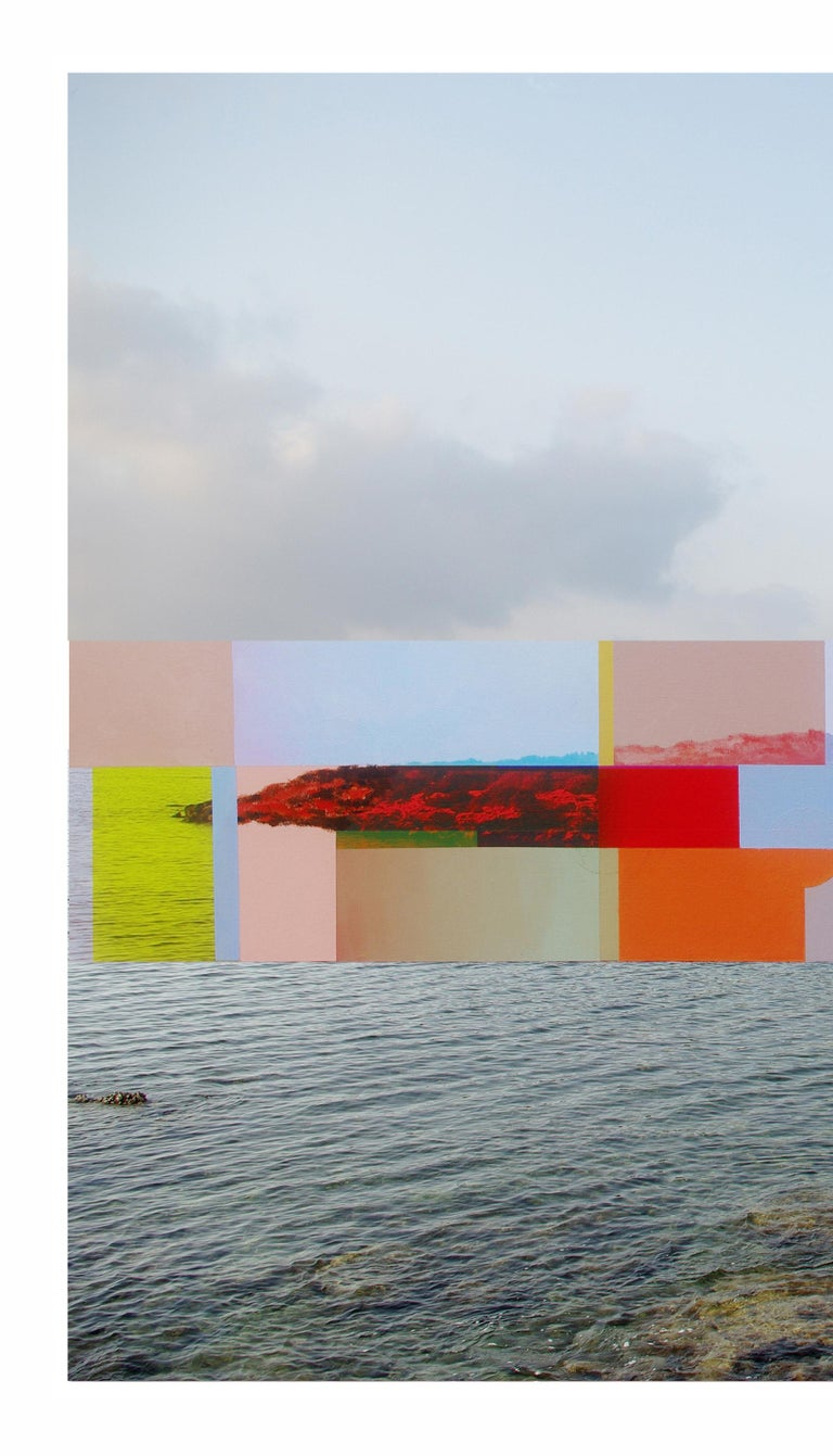 Sobre el filtro de la realidad II, 2011. Digital print and acrylic on canvas   This work is signed and with certificate of authenticity. edition of 6  His work has been shown in Reina Sofía Museum of Madrid, Royal Academy of London, Arco Madrid,