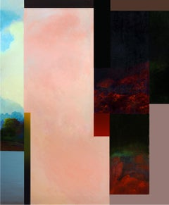 Trópico - Contemporary,Abstract, Minimalism, Modern,  Surrealist, Landscape