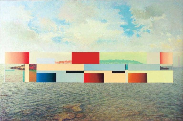 0023 - Contemporary, Abstract, painting, Pop art, Surrealist, geometric - Mixed Media Art by Francisco Nicolás