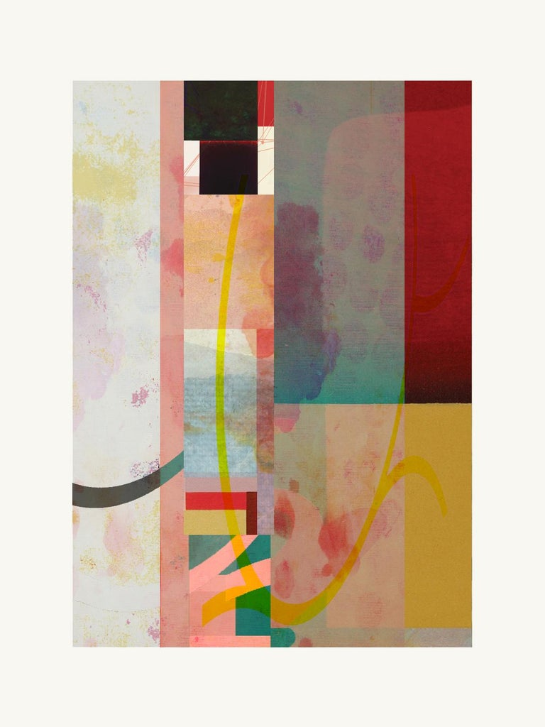Francisco Nicolás Abstract Print - Abstract-Contemporary, Abstract, Expressionism, Modern, Pop art, , Geometric