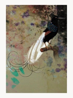Birds 001 -Contemporary, Abstract, Modern, Pop art, Surrealist, Landscape