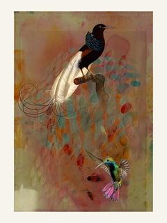 Birds 003 -Contemporary, Abstract, Modern, Pop art, Surrealist, Landscape