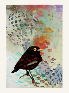 Birds 004 -Contemporary, Abstract, Modern, Pop art, Surrealist, Landscape