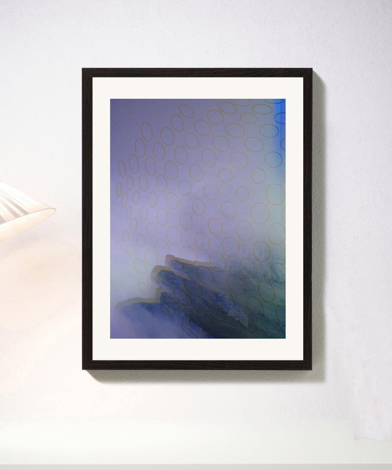 Blue & mountain, 2019 Digital pigment print Ultrachrome ink on Fabriano Rosaspina paper. Hand signed by the artist, and certificate of authenticity. Edition of 25  (Unframed)  His work has been shown in Reina Sofía Museum of Madrid, Royal Academy of