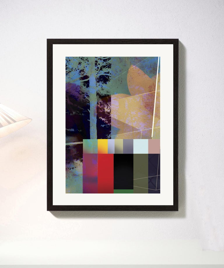Digital pigment print Ultrachrome ink on Fabriano Rosaspina paper. Hand signed by the artist, and certificate of authenticity. Edition of 25  (Unframed)  His work has been shown in Reina Sofía Museum of Madrid, Royal Academy of London, Arco Madrid,