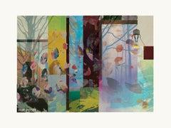 F0119-Contemporary, Abstract, Minimalism, Modern, Pop art, Surrealist, Landscape