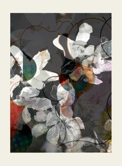 flower5-Contemporary , Abstract, Gestual, Street art, Pop art, Modern, Geometric