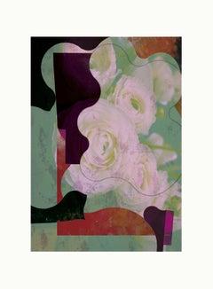 flower1-Contemporary , Abstract, Gestual, Street art, Pop art, Modern, Geometric