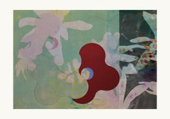 flower27-Contemporary, Abstract, Minimalism, Modern, Expressionist, Surrealist