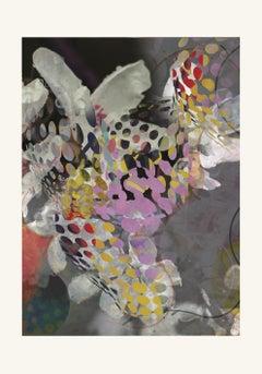 flower7-Contemporary , Abstract, Gestual, Street art, Pop art, Modern, Geometric