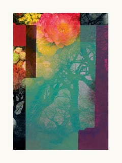 Flowers  - Contemporary, Abstract, Modern, Pop art, Surrealist, Landscape