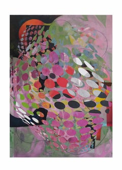 Flowers7-Contemporary, Abstract, Minimalism, Modern, Expressionist, Surrealist