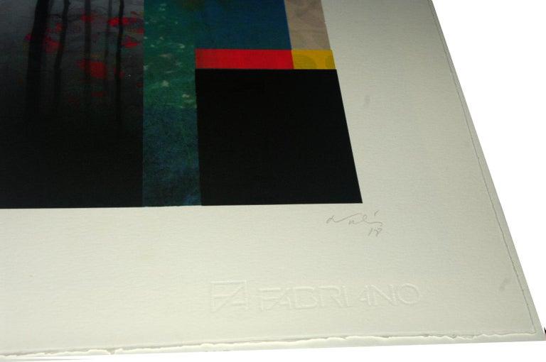 Fo19-Contemporary, Abstract, Minimalism, Modern, Pop art, Surrealist, Landscape - Pop Art Print by Francisco Nicolás