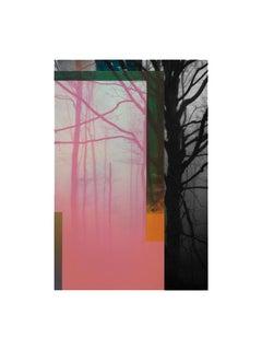 Forest IX - Contemporary, Abstract, Minimalism, Modern, Pop art, Surrealist